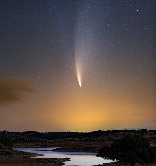 Dyrk Sky: Miguel Claro apanha cometa Neowise