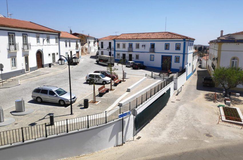 Portel: Reabertura do Largo Miguel Bombarda