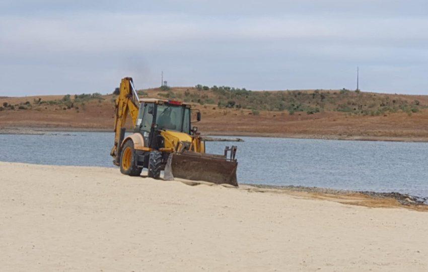 Mourão: Praia fluvial encontra-se em manutenção
