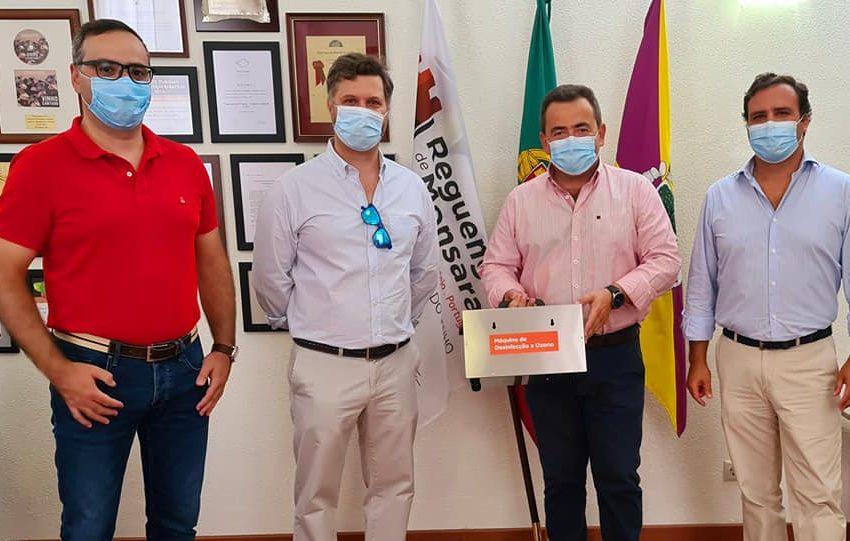 Grupo A MatosCar ofereceu máquina de desinfeção a ozono ao Município de Reguengos de Monsaraz