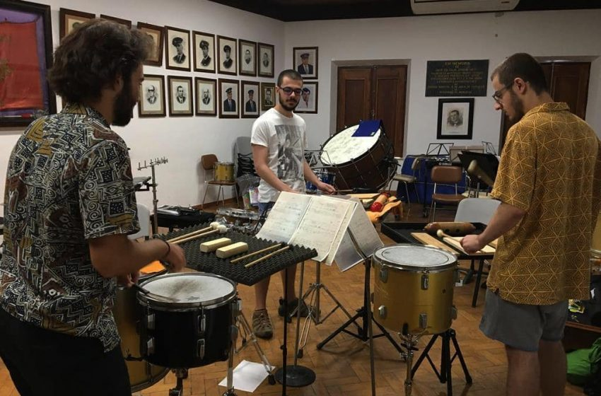 """Touchez Percussion Group"" atua hoje em Alandroal"