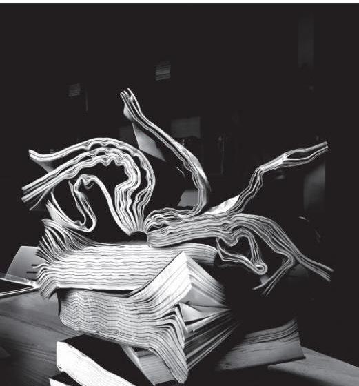A água e o Livro, Exposição de António Faria