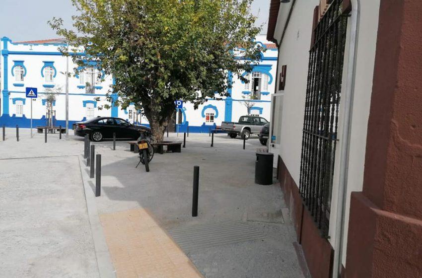 Marta Prates anuncia o fim das obras no Largo da República