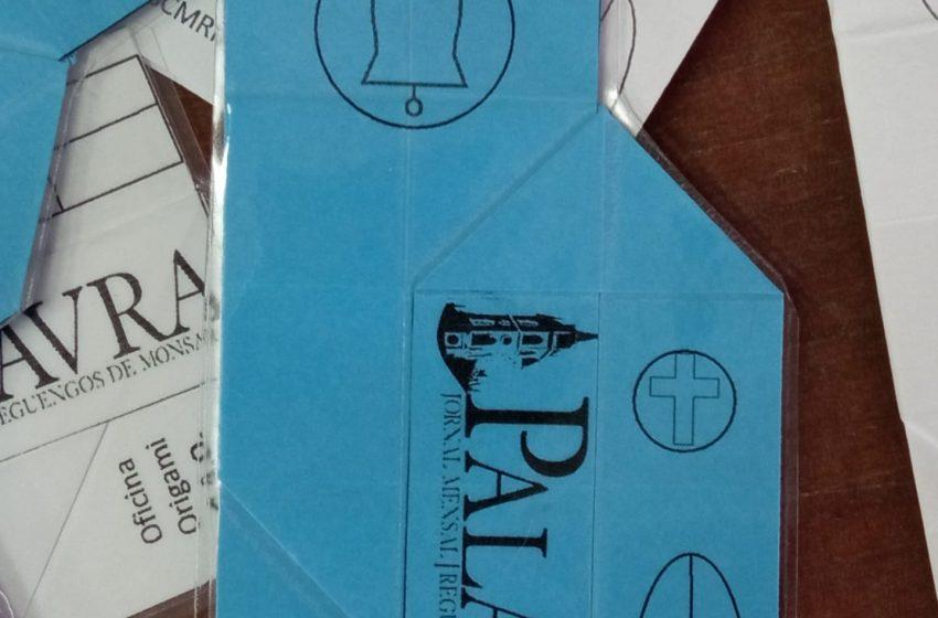 CAO: Palavra recebe Origami publicitário