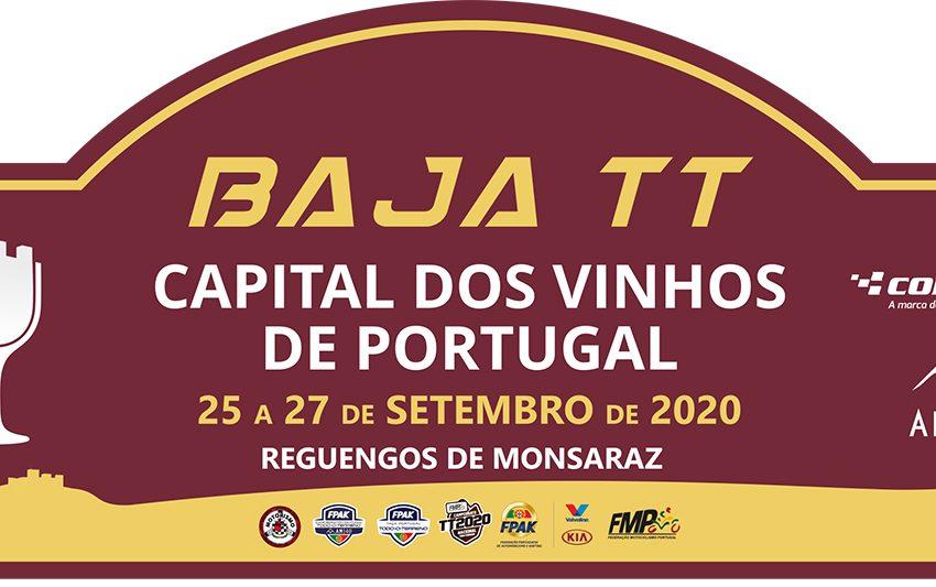 Baja TT Capital dos vinhos é já dias 25, 26 e 27 de setembro