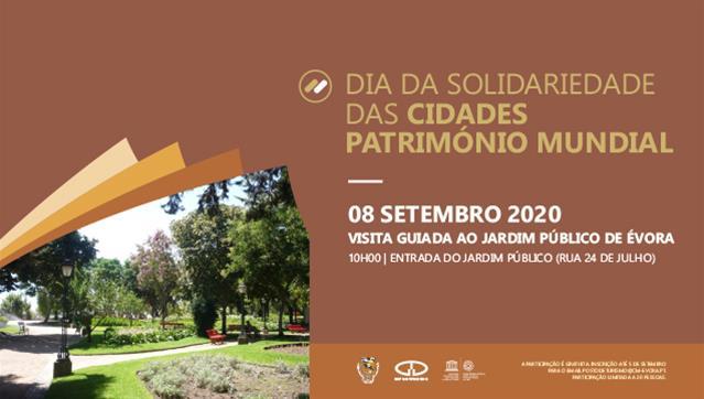 Visita guiada ao Jardim Público de Évora