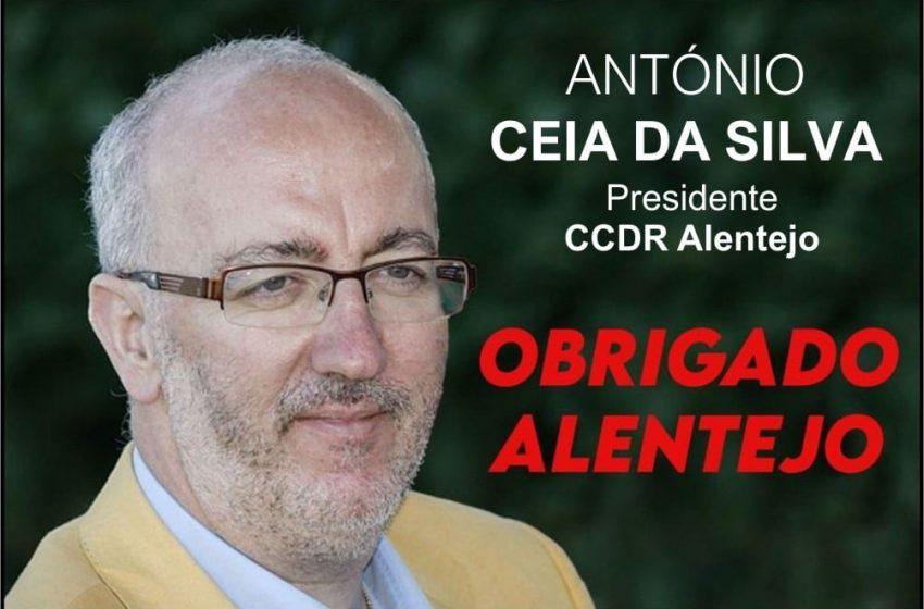 Ceia da Silva é o próximo presidente da CCDR Alentejo