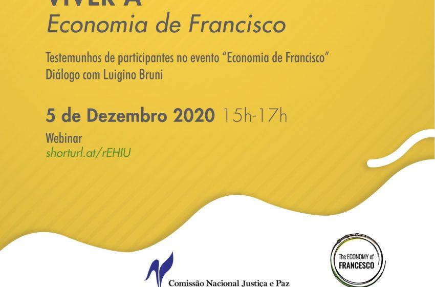 Comissão Justiça e Paz promove webinar «Viver a Economia de Francisco»