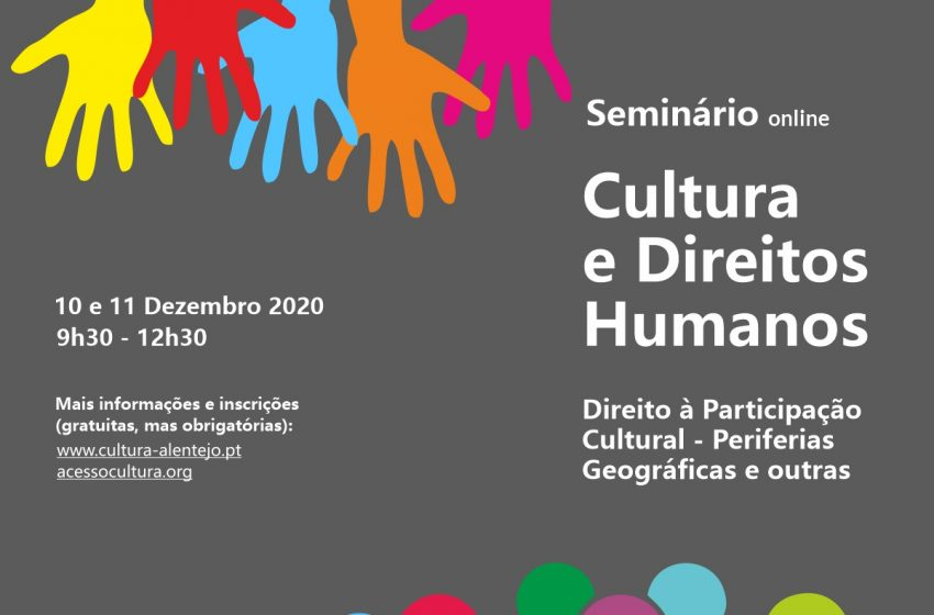DRCAlentejo promove seminário sobre Cultura e Direitos Humanos