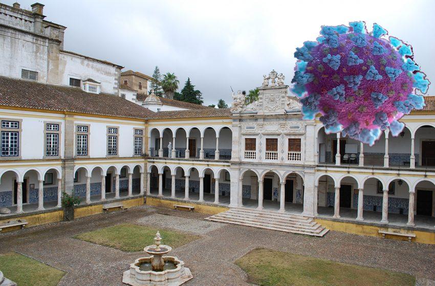 Universidade de Évora cancela aulas presenciais devido à Covid-19