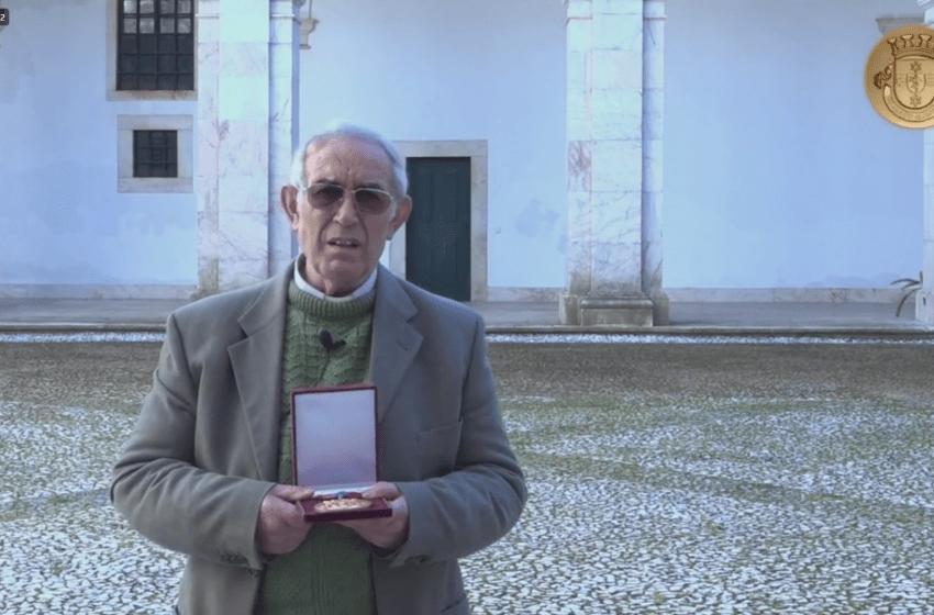 Município de Viana do Alentejo atribuiu a medalha de honra ao Padre Manuel Manso