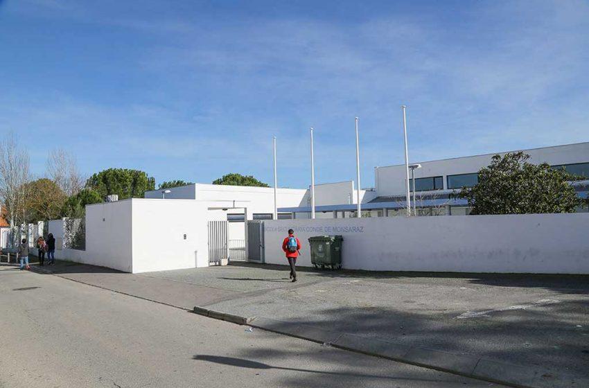 Escola Conde de Monsaraz encerra ensino presencial