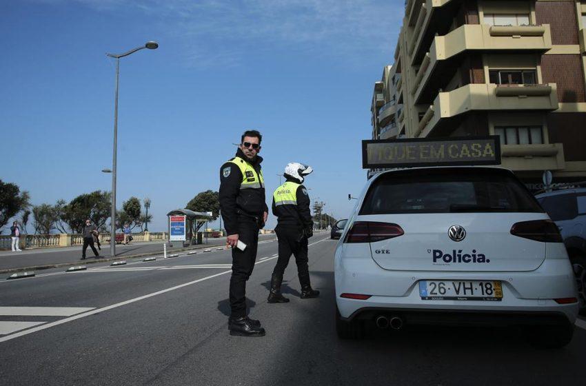 Circulação entre concelhos está proibida aos fins de semana